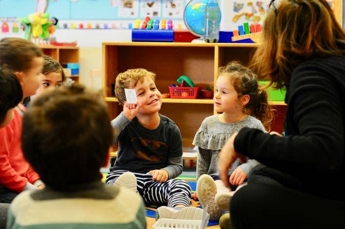 Teaching syllables at pre kindergarten